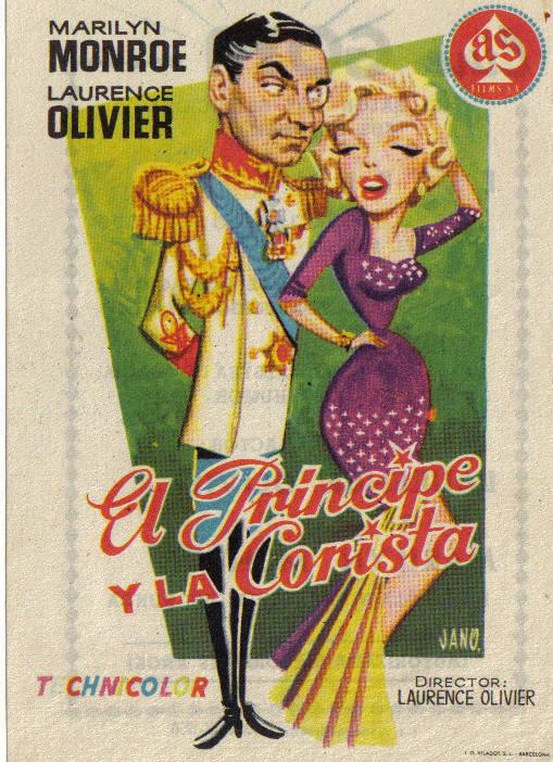 Cine de papel – El príncipe y la corista – 39escalones