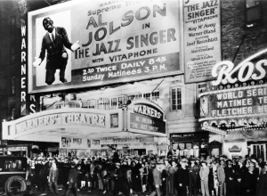 The New York Premiere of THE JAZZ SINGER, October 6, 1927