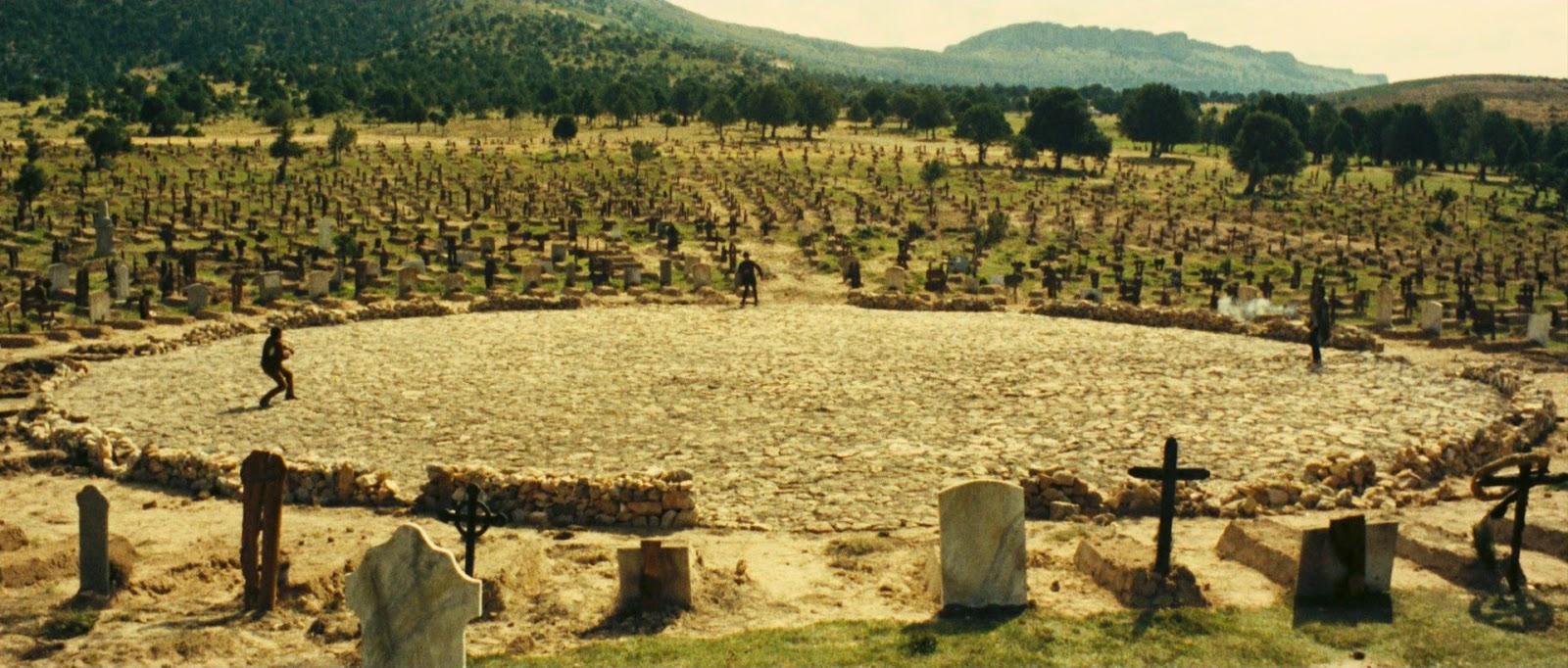Resultado de imagen de el bueno el feo y el malo cementerio